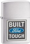Zippo ZO28259 Automotive/Racing Lighter Ford Brushed Chrome 2825