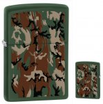 Zippo 28330 Classic Green Matte Camouflage Design Windproof