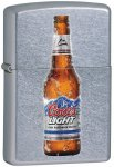 Zippo Lighter: Coors Light Bottle - Street Chrome 28251