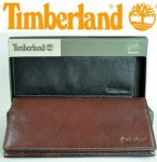 Timberland Mens Secretary Wallet Black&BrownD67385GenuineLeather