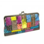 Ladies Kiss Lock Hinge Wallet