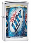 Zippo 28250 MillerCoors High Polish Chrome Lite Windproof
