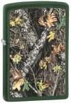 Zippo 28332 Mossy Oak Green Matte Break Up Windproof Lighter