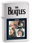 Zippo 28254 The Beatles Brushed Chrome Let It Be Windproof