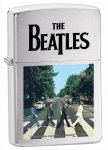 Zippo 28255 The Beatles Brushed Chrome Abbey Road Windproof