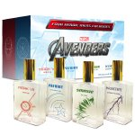 AVENGERS PERFUME Four Unique Colognes in One Boxed Set