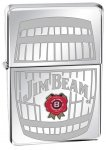 Zippo 28421 Jim Beam High Polish Chrome Windproof