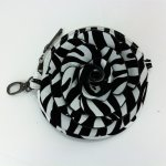 "Women's Rose Zebra Small Crossbody Bag With Multi Colors ""White"""