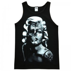 Men Funny Tank Top Marilyn Monroe Shirt