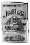 Zippo Lighter 250JB.928 Jim Beam Pewter HP Chrome