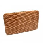 Flat Clutch wallet with Round buckle Multi Color