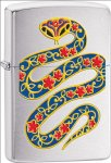 Zippo Year of the Snake Brushed 28456